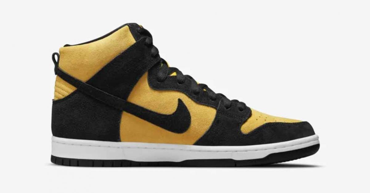 Nike SB Dunk High Gul Sort DB1640-001