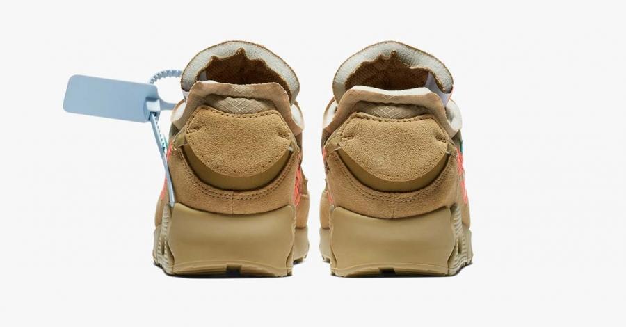 Off-White x Nike Air Max 90 Beige AA7293-200