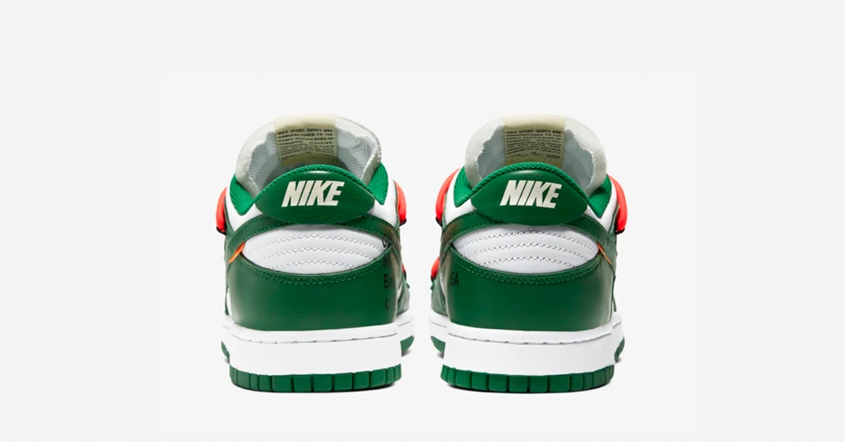 Billige Off White x Nike Dunk Lav