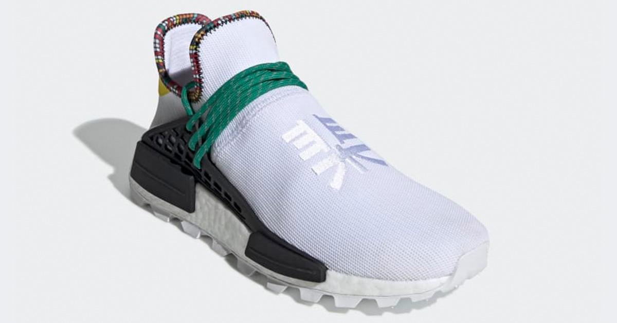 Pharrell Williams x Adidas Solar Hu NMD Hvid EE7583