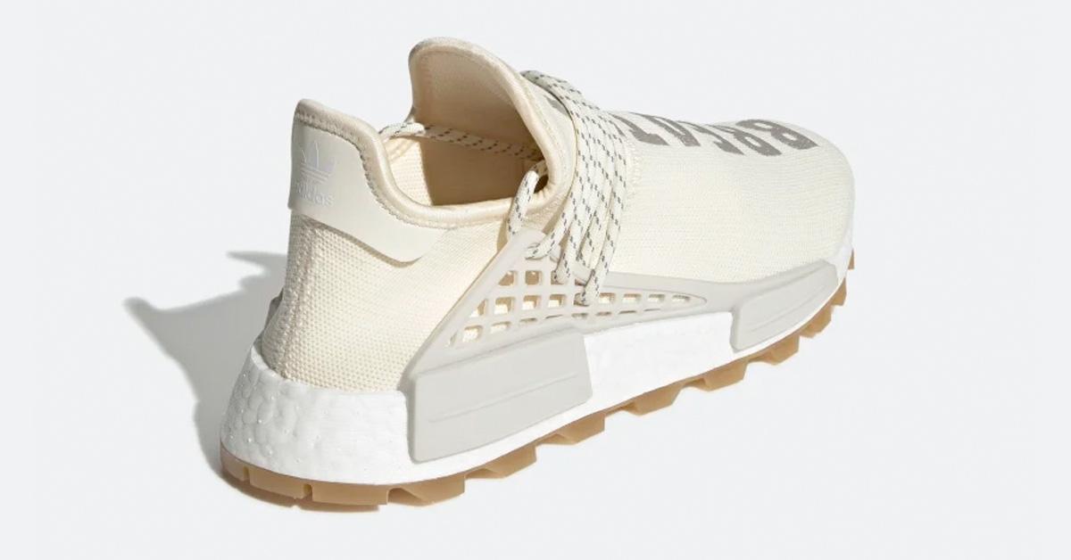 Pharrell Williams x Adidas Hu NMD Proud Cream EG7737