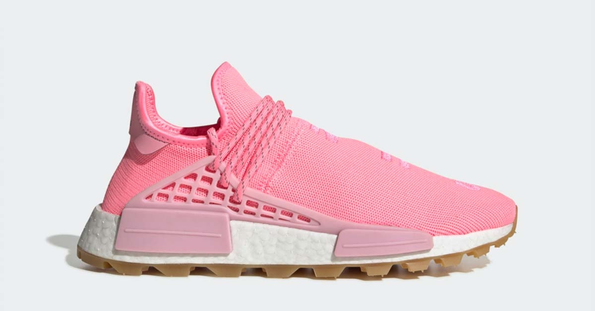 Pharrell Williams x Adidas Hu NMD Proud Pink EG7740