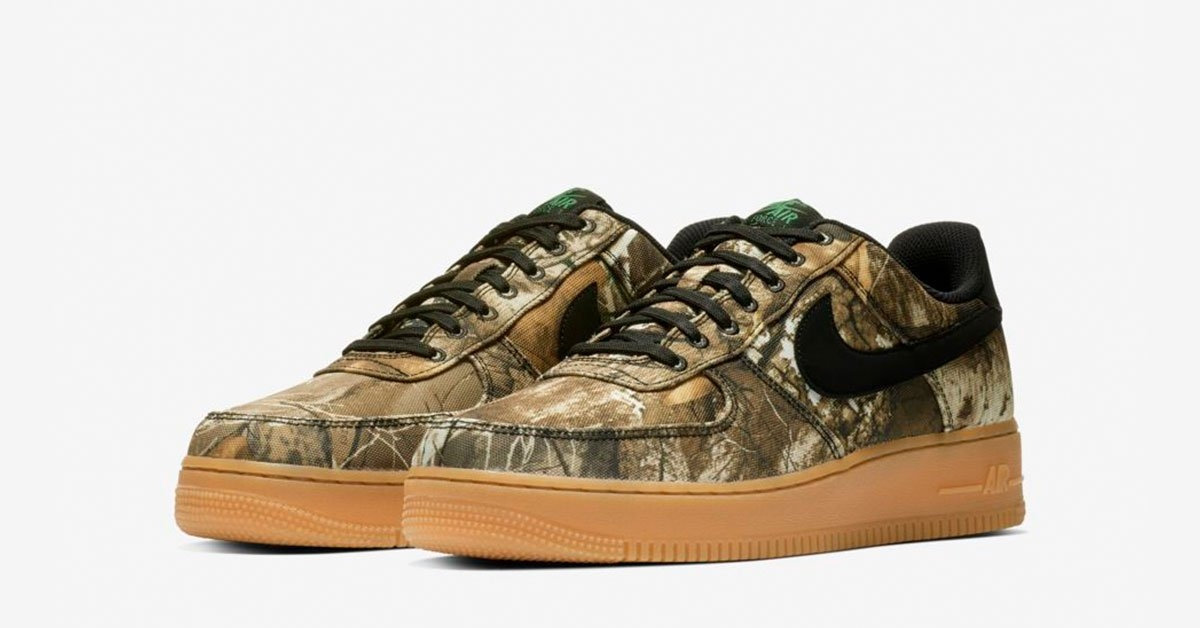 Realtree x Nike Air Force 1 Low Desert Woodland AO2441-001