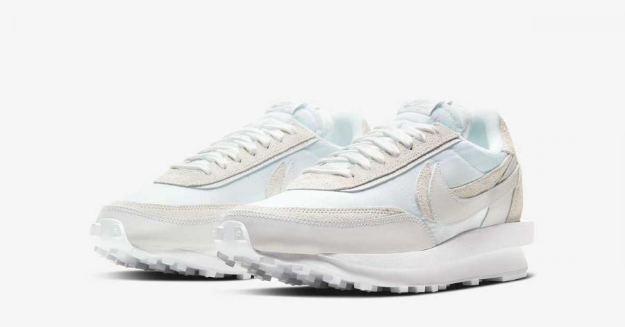 Sacai x Nike LD Waffle Hvid BV0073-101