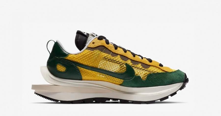 Sacai x Nike Vapor Waffle Tour Yellow Geoge Green Sail - CV1363-700