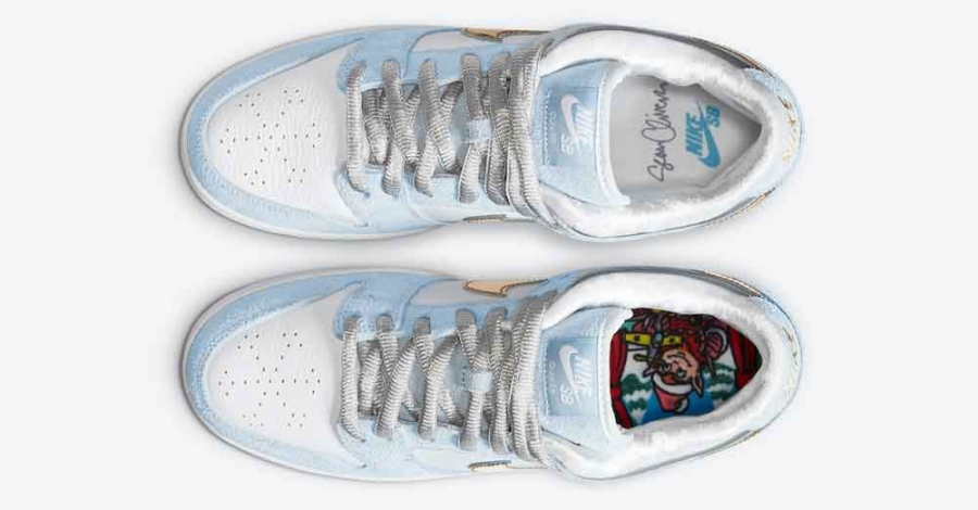 Sean Cliver x Nike SB Dunk Low Holiday Special DC9936-100