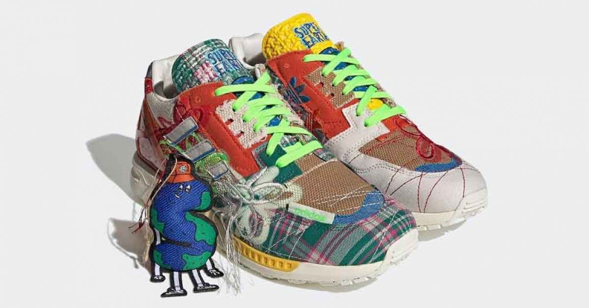 Sean Wotherspoon X Adidas ZX 8000 Super Earth GZ3088