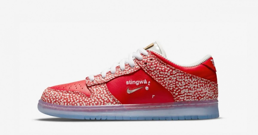 Stingwater x Nike SB Dunk Low Magic Mushroom DH7650-600