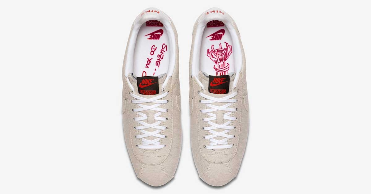 Stranger Things x Nike Cortez Upside Down Cool Sneakers