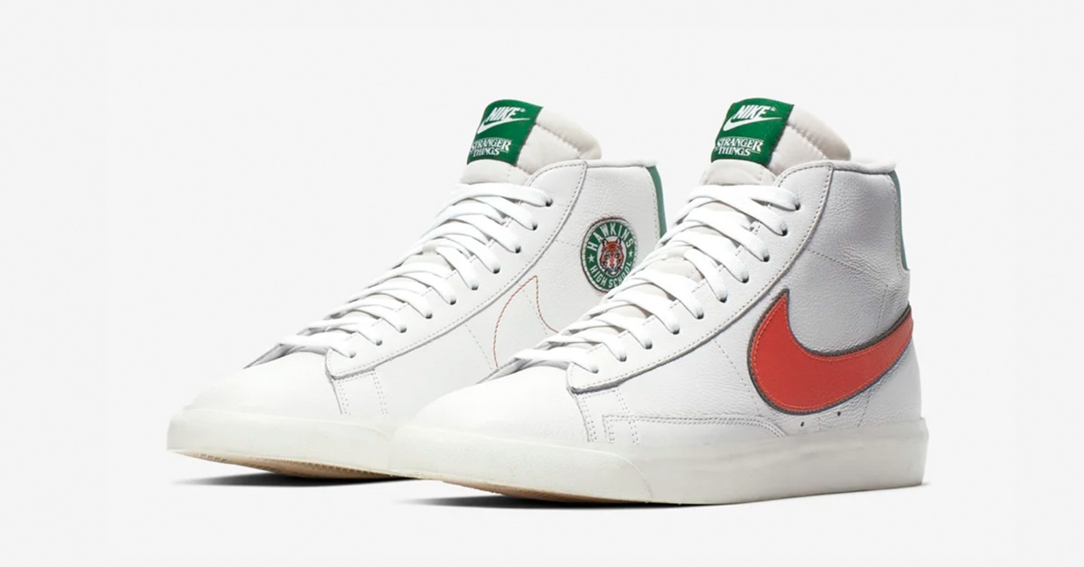 Stranger Things x Nike Blazer Mid Hawkins High Cool Sneakers