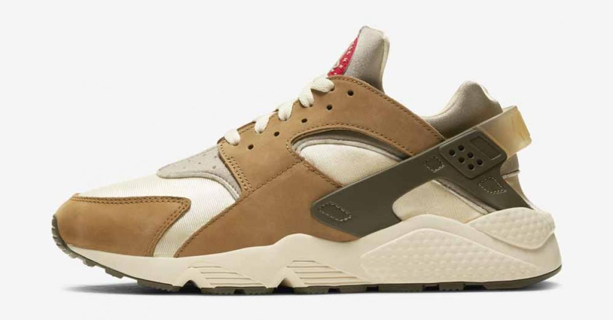 Stüssy x Nike Air Huarache LE Desert Oak DD1381-200