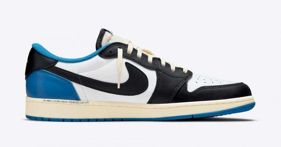 Travis Scott x Fragment x Nike Air Jordan 1 Low DM7866-140