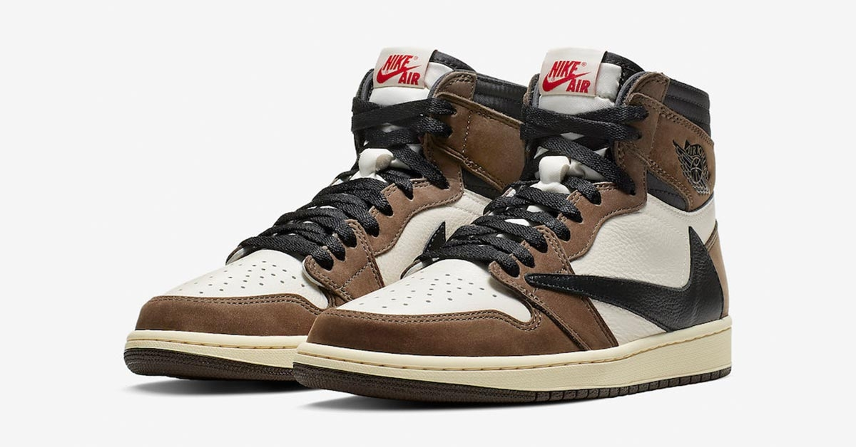 Travis Scott x Nike Air Jordan 1 Cactus Jack CD4487-100