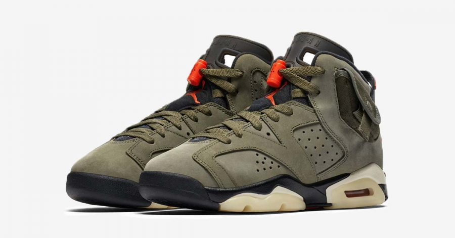 Travis Scott x Nike Air Jordan 6 CN1084-200
