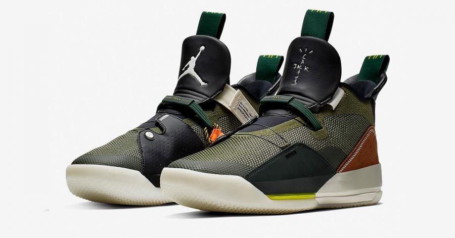 Travis Scott x Nike Air Jordan 33 Cactus Jack CD5965-300