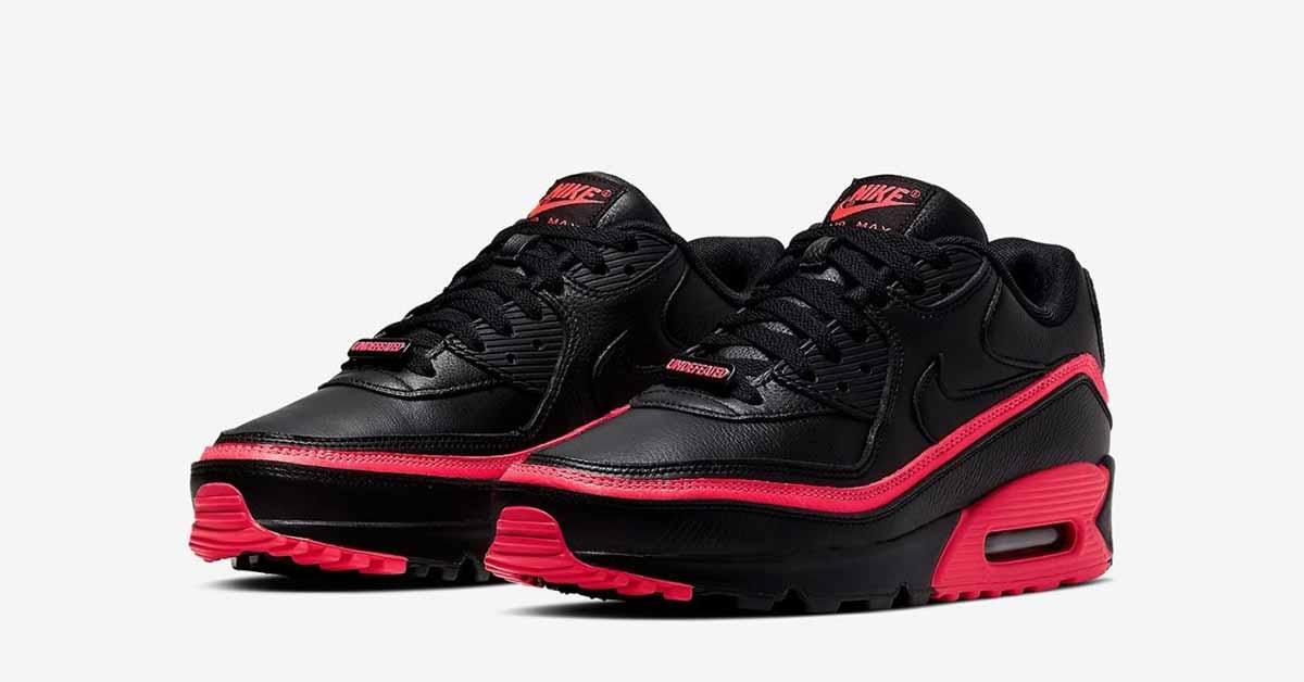 nike air max sko rød and svart