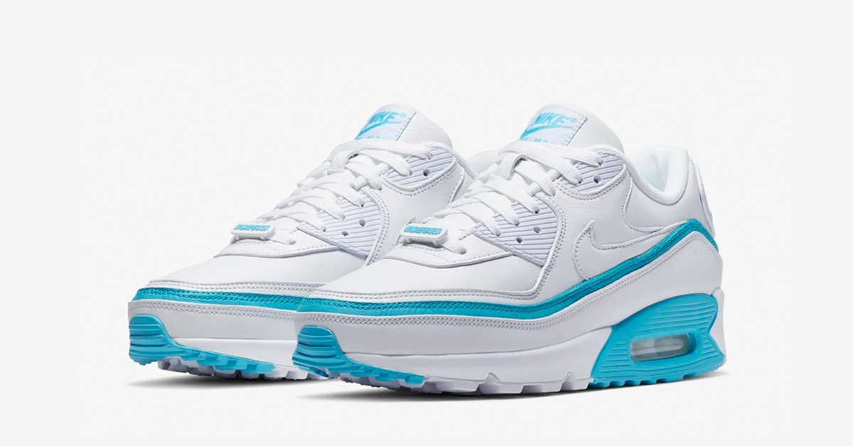 Undefeated x Nike Air Max 90 Hvid Blå
