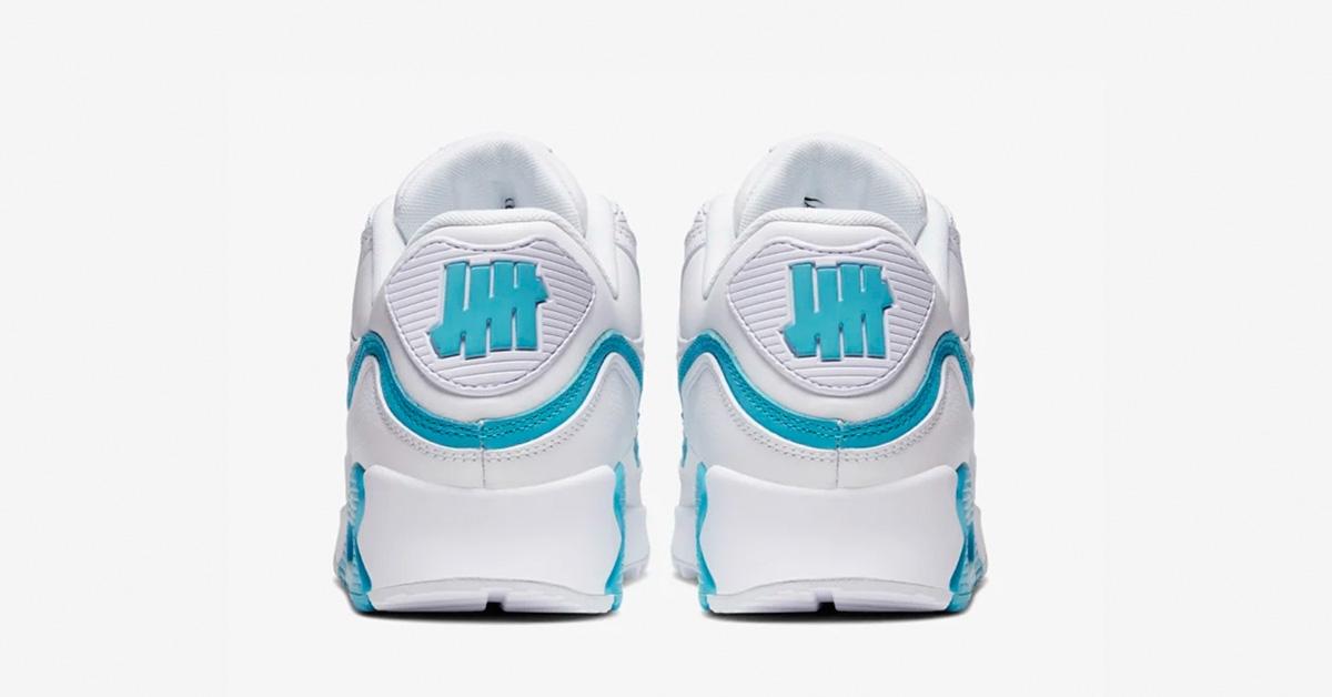 Undefeated-x-Nike-Air-Max-90-Hvid-Blaa-05