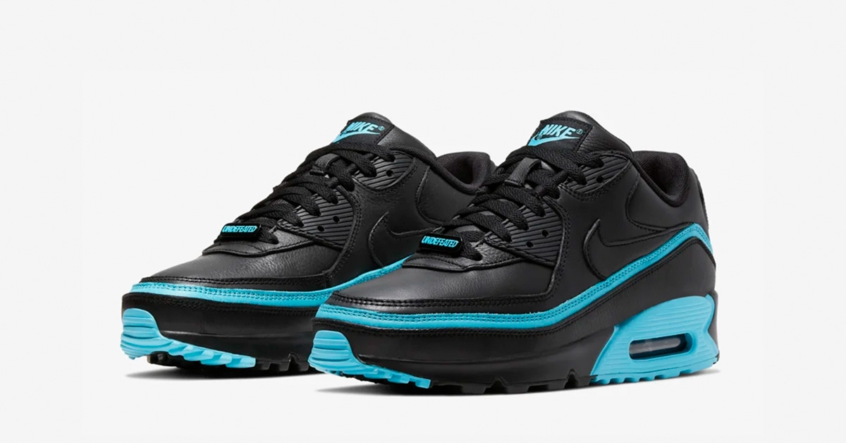 Undefeated x Nike Air Max 90 Sort Blå