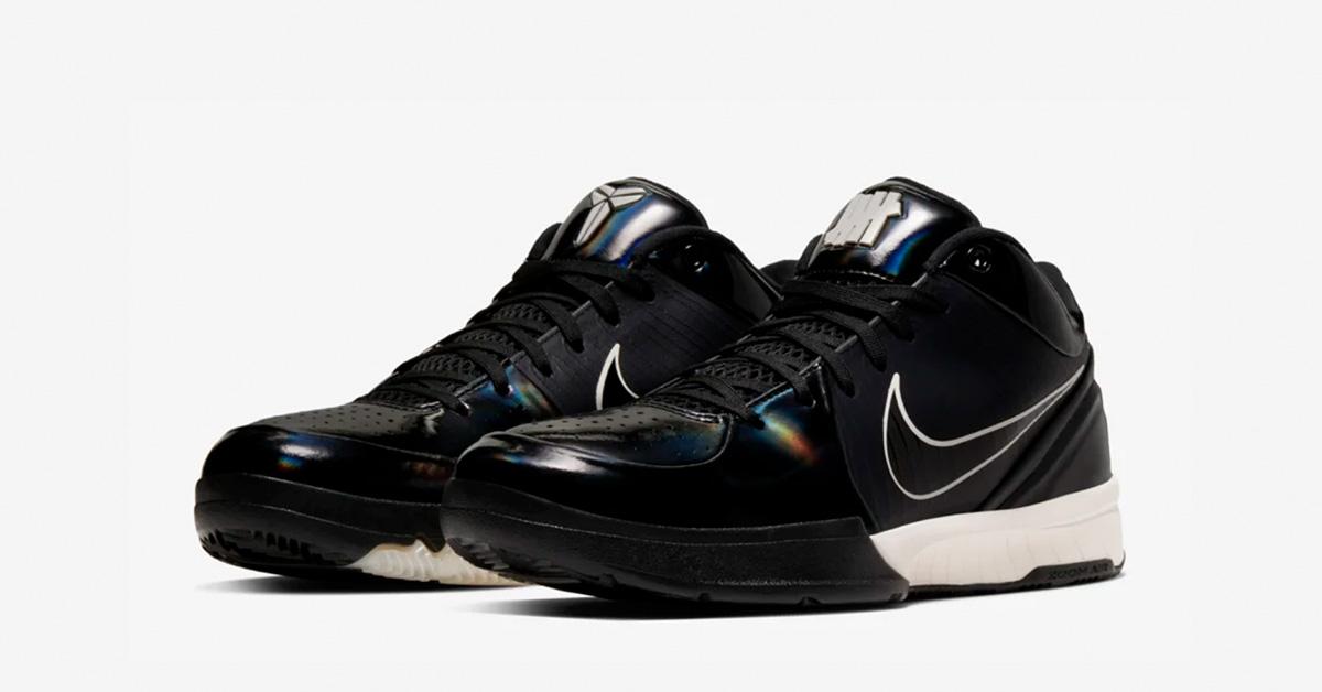 Undefeated x Nike Kobe 4 Protro Black Mamba