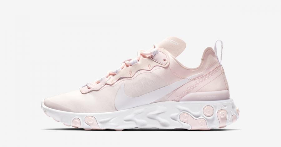 Nike React Element 55 Pink til kvinder BQ2728-600